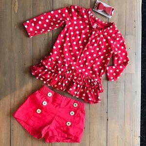 Baby Gap Shorts/Shirt Set
